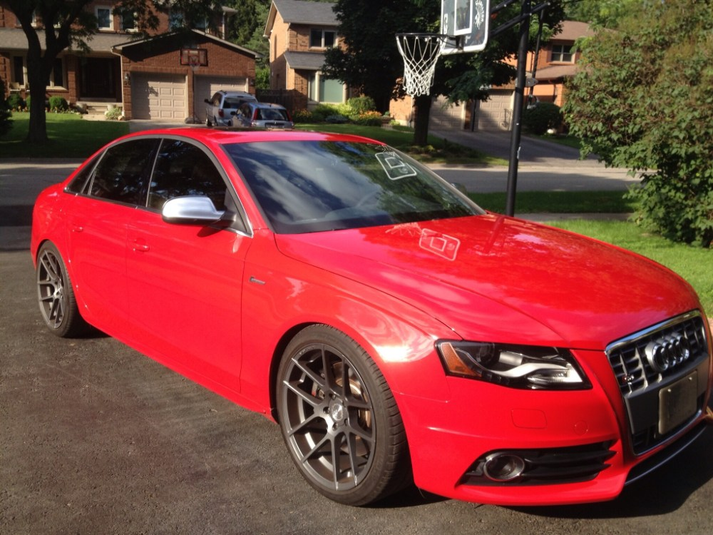 medium resolution of 2010 audi s4 6 speeds manual in brilliant red with nav and sport