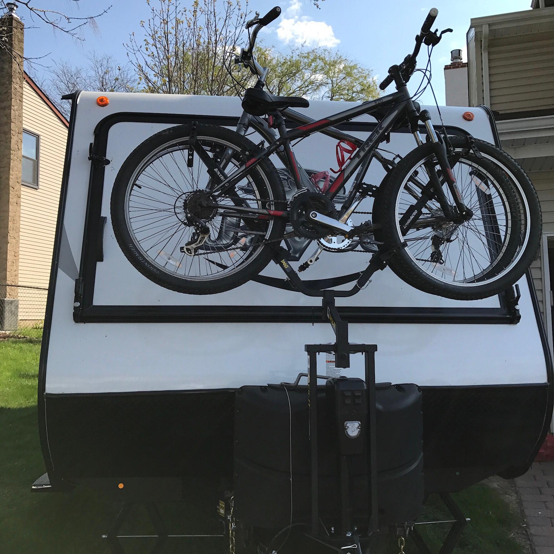 bike rack ideas jayco rv owners forum