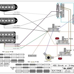 Guitar Wiring Diagrams Coil Split Free Printable Venn Diagram With Lines Hss Strat For Using 3 Way Switch