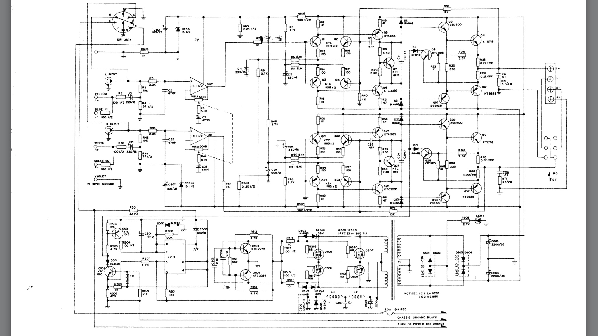 Trying To Modify My Pyramid Pb 300g I Have The Schematics