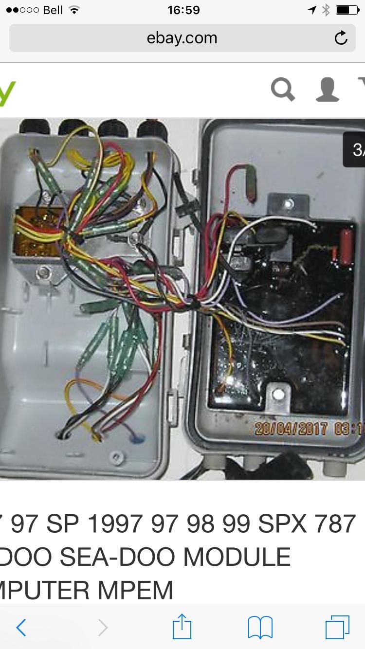 Seadoo Wiring Diagram 96