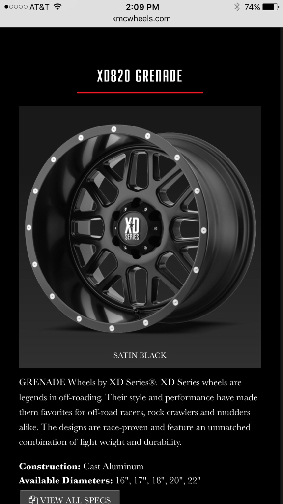 Xd Jeep Wheels : wheels, Grenade, Wheels, Looking, Pics!, Wrangler, Forum