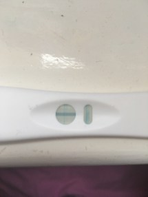 Faint Pregnancy Test Evaporation Line - Year of Clean Water