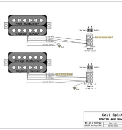 notice that each of the splits uses only one side of the 2 way dpdt you can use either a mini toggle or a push pull pot your split wire will do the job  [ 2048 x 1547 Pixel ]