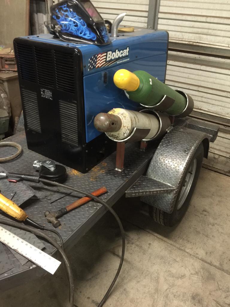 welding trailer build along