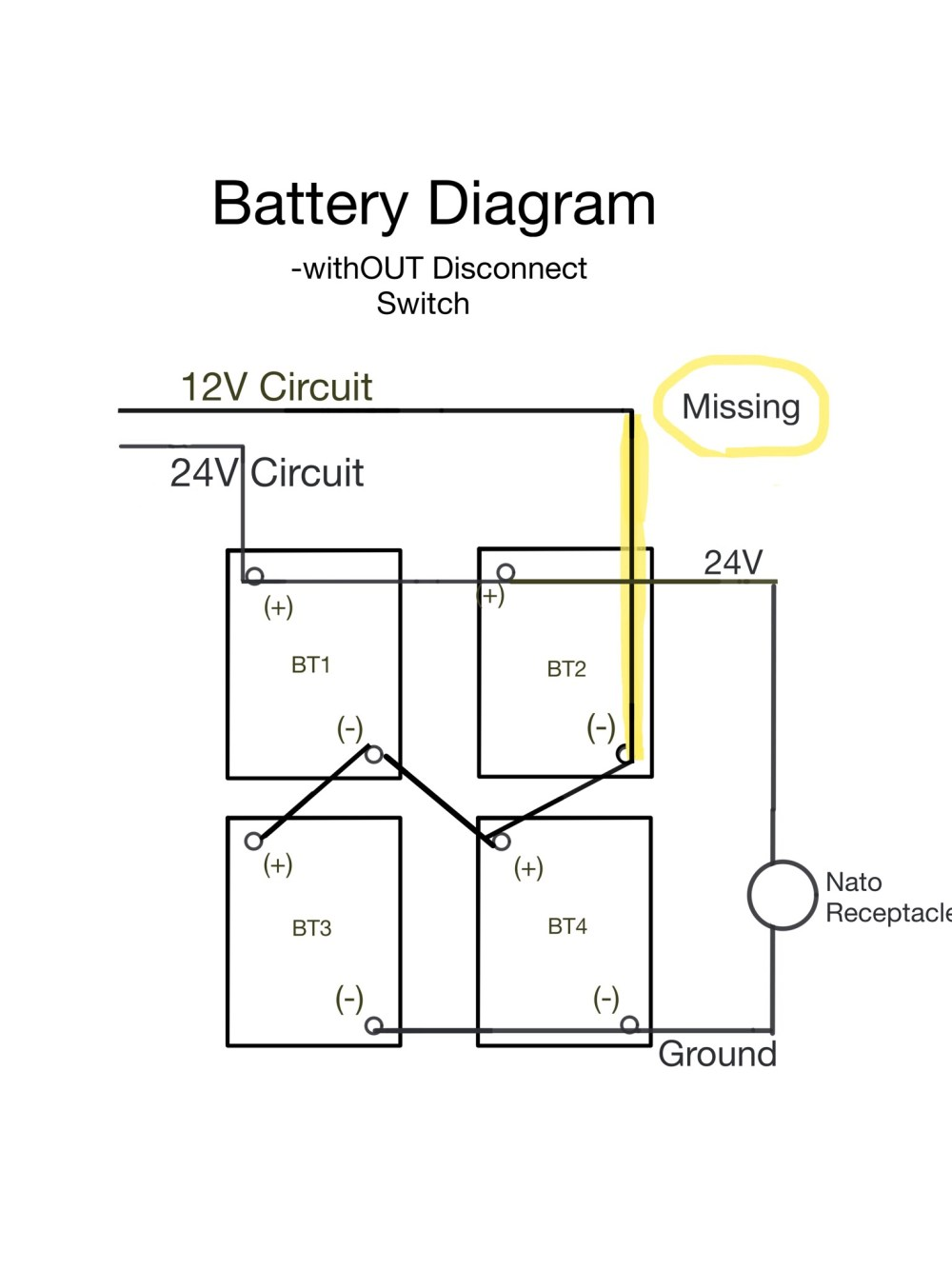 medium resolution of i did a revised battery diagram to illustrate what we missed on my oem diagram https uploads tapatalk cdn com 201 1e23590e62 jpg
