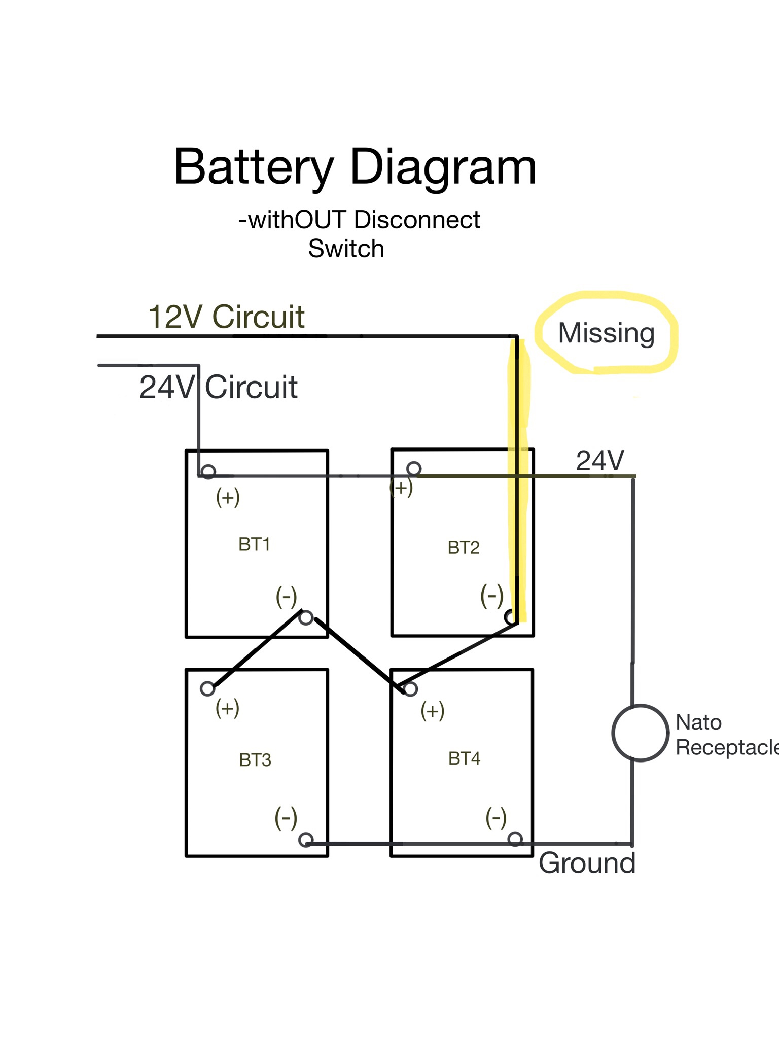 hight resolution of i did a revised battery diagram to illustrate what we missed on my oem diagram https uploads tapatalk cdn com 201 1e23590e62 jpg