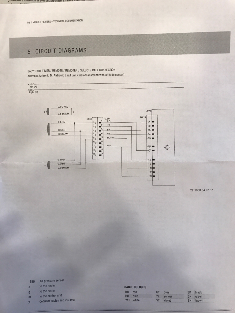 hight resolution of anyone have experience w espar d2 remote controller archive sprinter forum