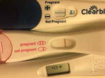 Pin Faint Positive Pregnancy Test Response - Exploring Mars