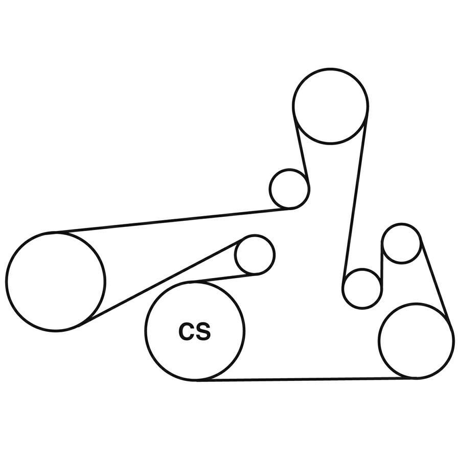 2014 Dodge Avenger Serpentine Belt Diagram