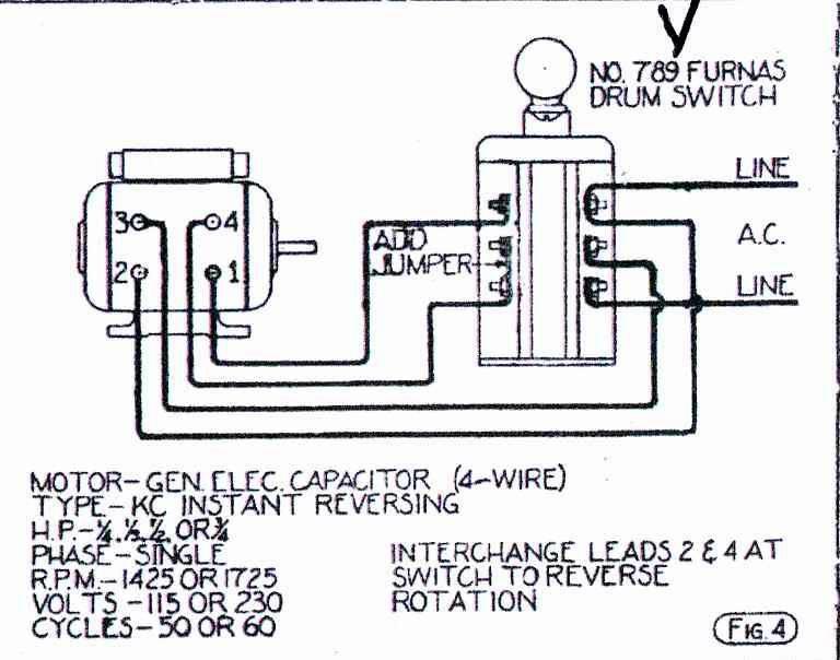 wiring diagram of forward reverse motor