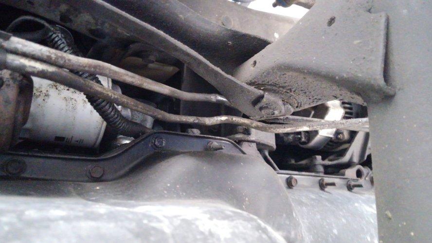 small resolution of transmission line brackets oil pan mounts naxja forums north american xj association