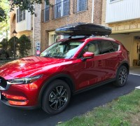 2017+ Roof Rack System and Cargo Box Options for 2017 CX-5
