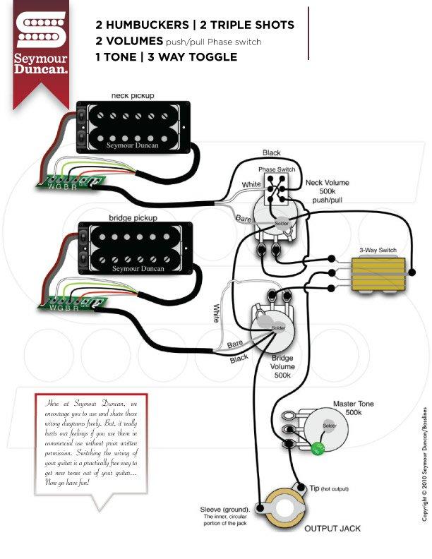 Bc Rich Warlock Guitar Wiring Diagram BC Rich Bronze Series Wiring ...