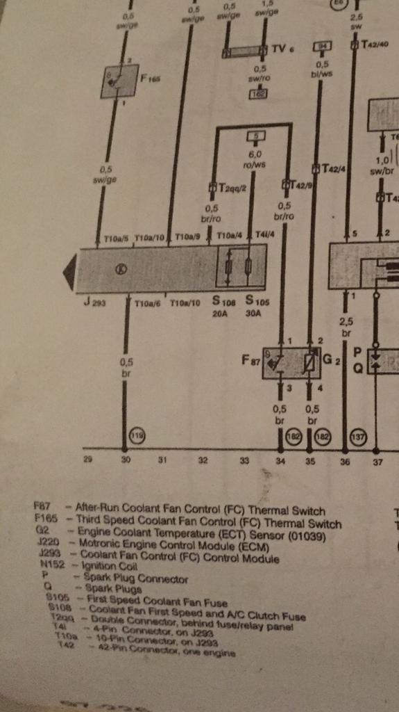 3 Wire Coolant Temperature Sensor Wiring Diagram : coolant, temperature, sensor, wiring, diagram, Coolant, Sensor, Wiring, Pinout, (yellow), Vortex, Volkswagen, Forum