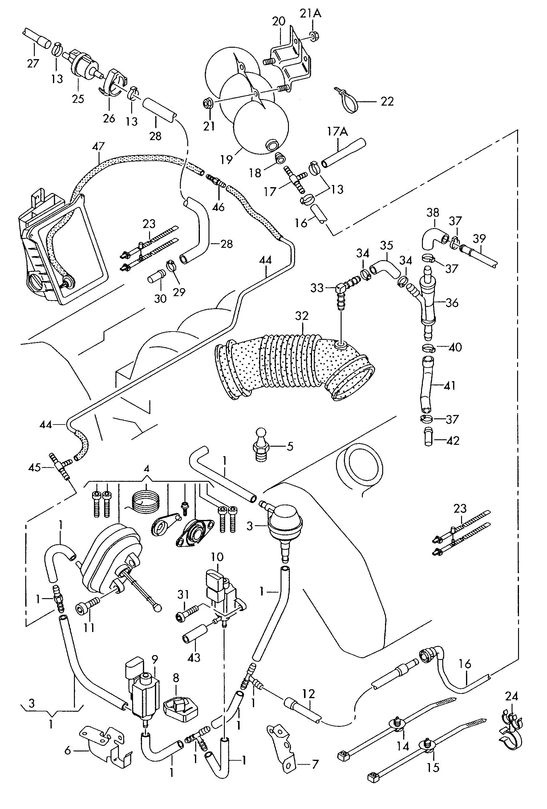 Please Help Id Ing This Broken Tube In Engine Bay S4 B7