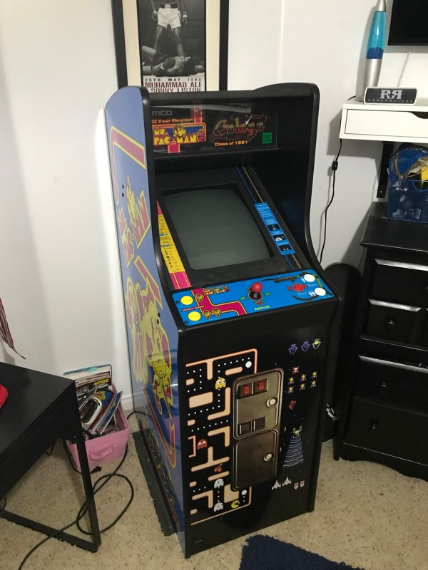 Fs Game Galaga Ms Pacman Reunion Arcade Sold - Klov