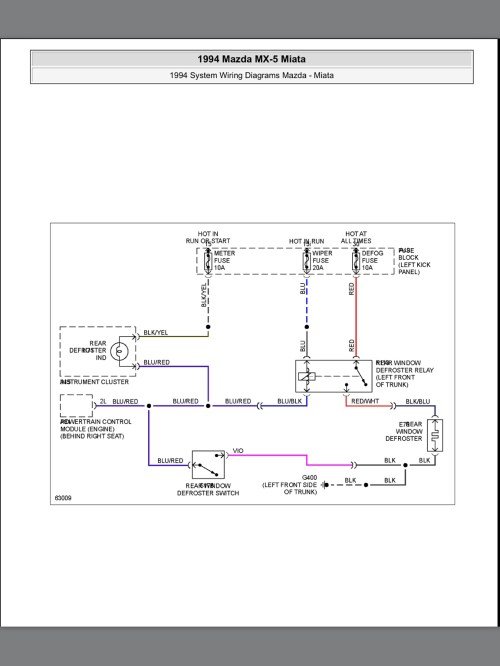 small resolution of 1994 mazda miata fuse diagram