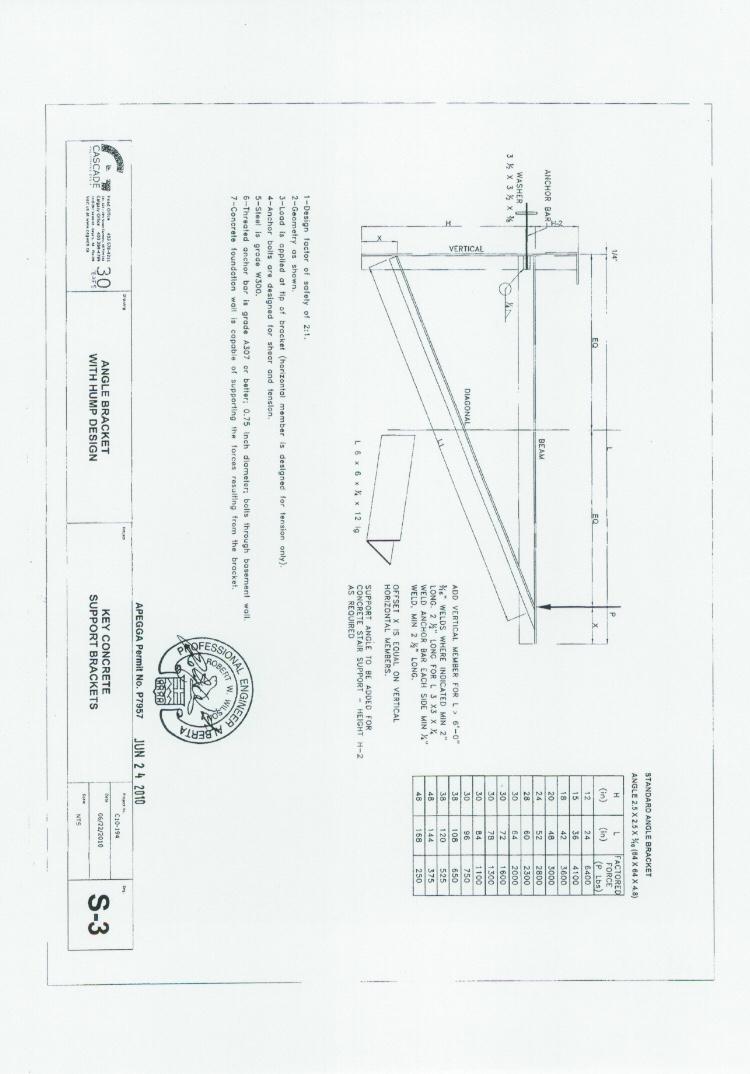 medium resolution of small side deck foundation alternative