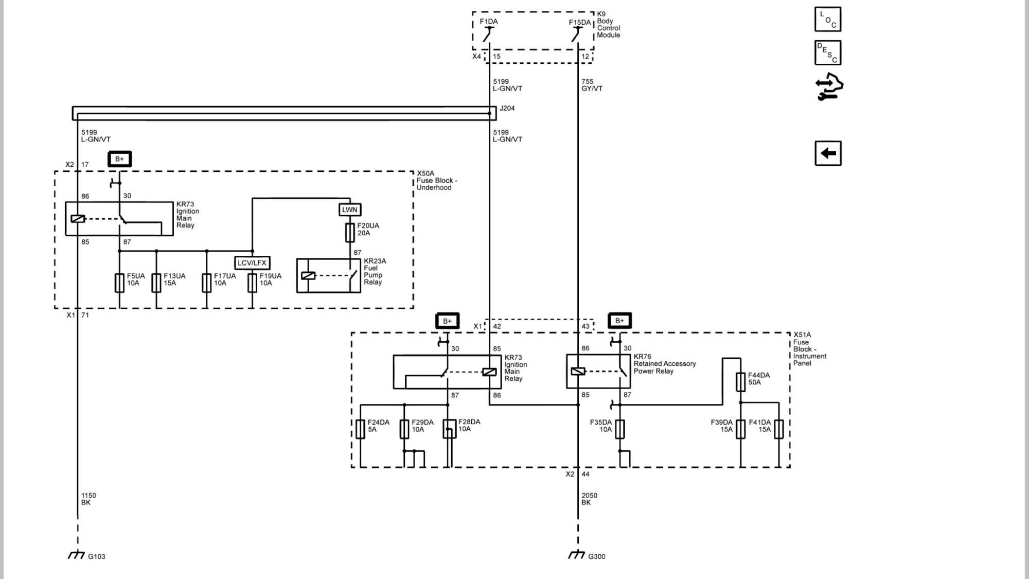hight resolution of here s the latching relay and electrical diagrams from gm upfitters manual