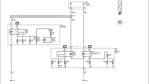 small resolution of here s the latching relay and electrical diagrams from gm upfitters manual