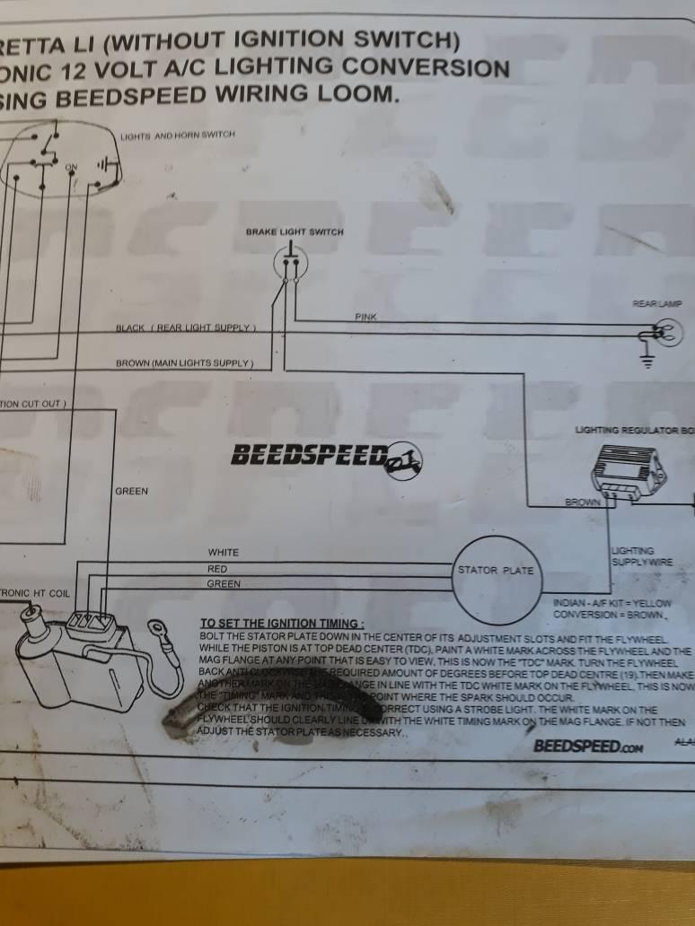 Vespa Allstate Wiring Diagram