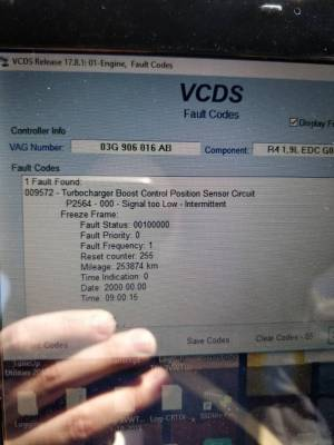 p2564 signal too low code | VW TDI forum, Audi, Porsche