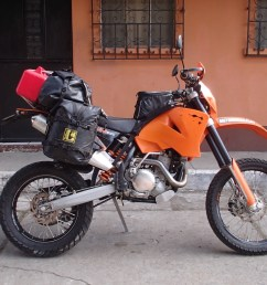 gnarly stuff for a majority of his adventures and not covering the distances i did then it makes perfect sense but a 500 dirt bike as a world tourer  [ 1536 x 864 Pixel ]