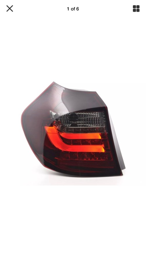 small resolution of led tail lights lci face lift vs non face lift