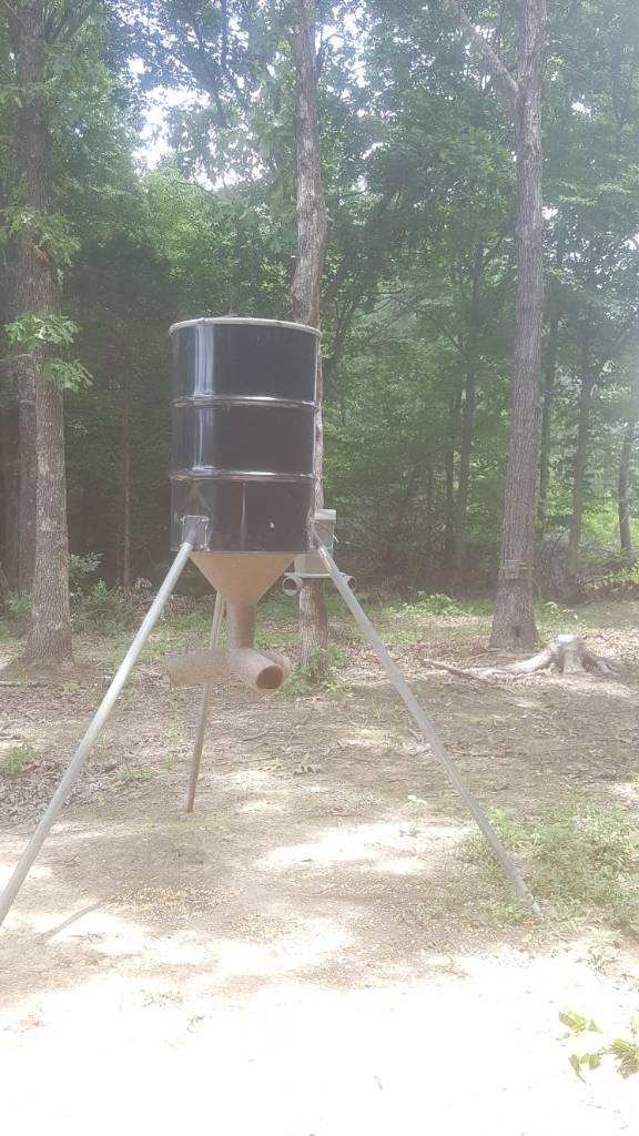 Homemade Deer Feeder Advice Appreciated North Carolina Hunting And Fishing Forums