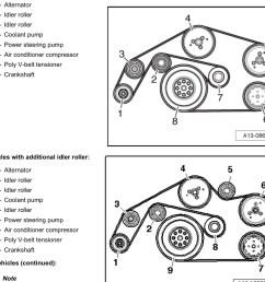 3 0tdi serpentine belt replacement audi sport net 3 2 a6 belt diagram [ 1800 x 1350 Pixel ]