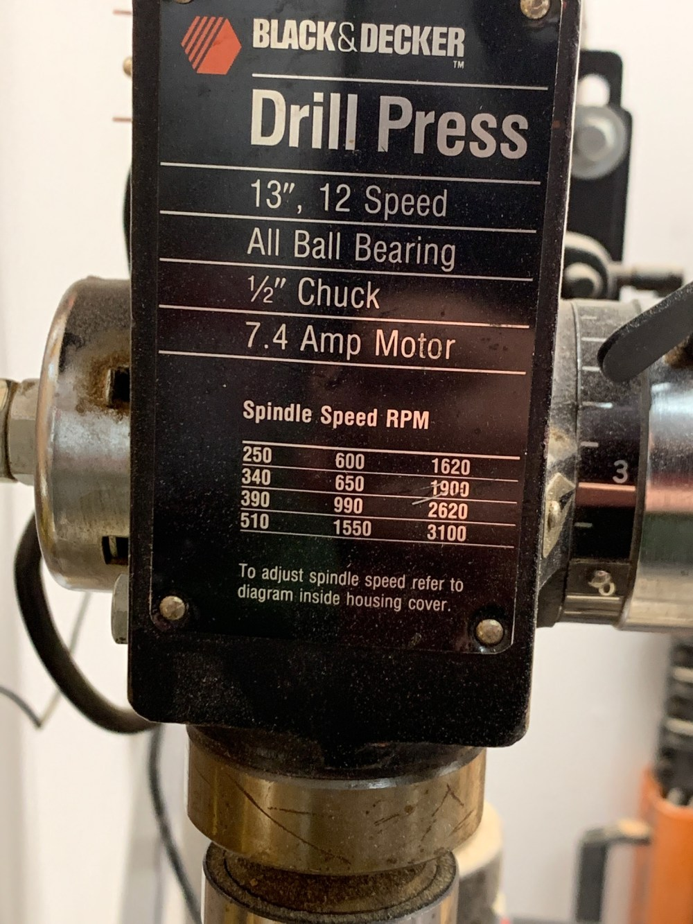 medium resolution of need help replacing the chuck on an old drill press
