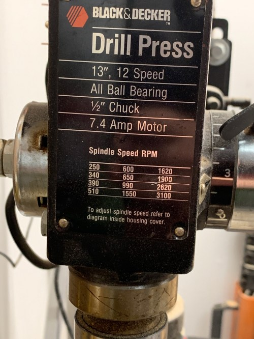 small resolution of need help replacing the chuck on an old drill press
