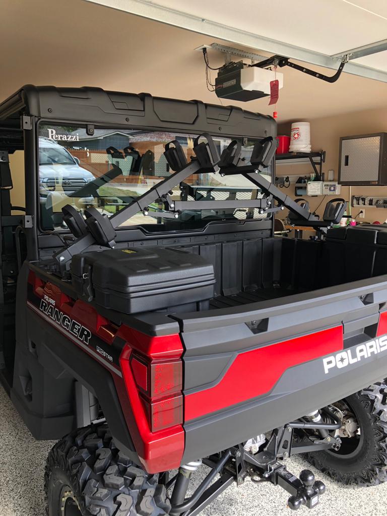 gun racks prc polaris ranger club