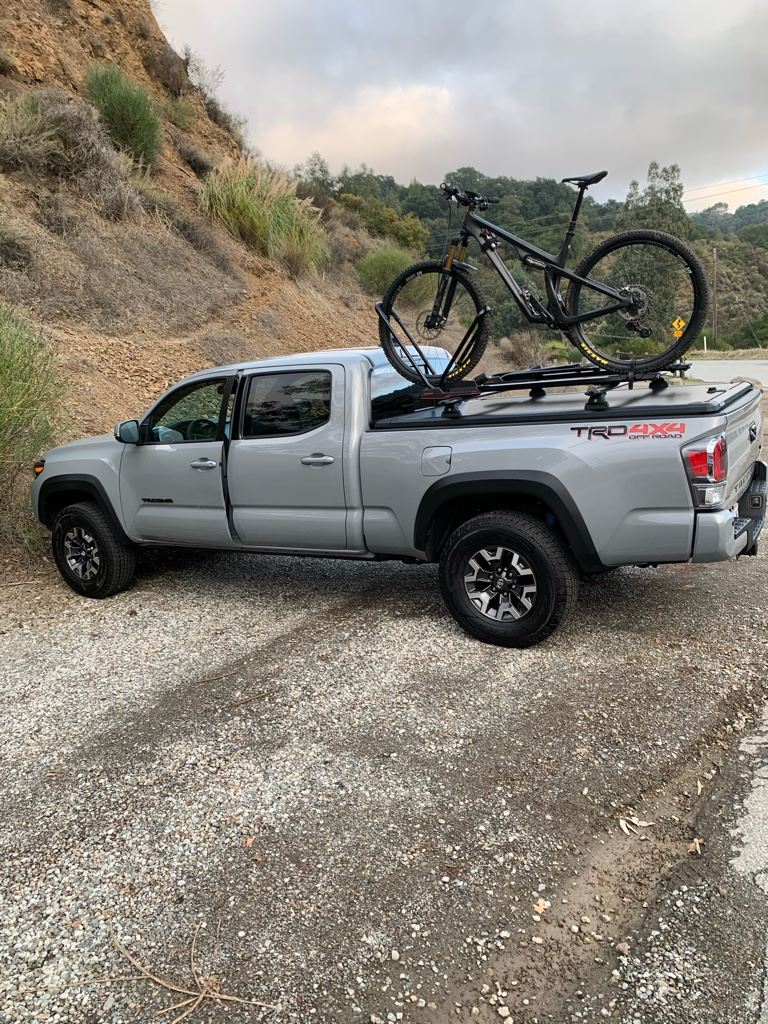 soft tonneau cover with roof rack