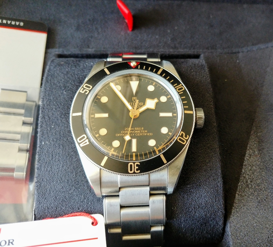 FS: Tudor Black Bay 58 Black 79030N - Full Set on Bracelet   WatchUSeek Watch Forums
