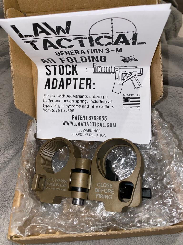 Law Tactical Folder Best Price : tactical, folder, price, Black, Tactical, Folding, Stock, Adapter, Calguns.net
