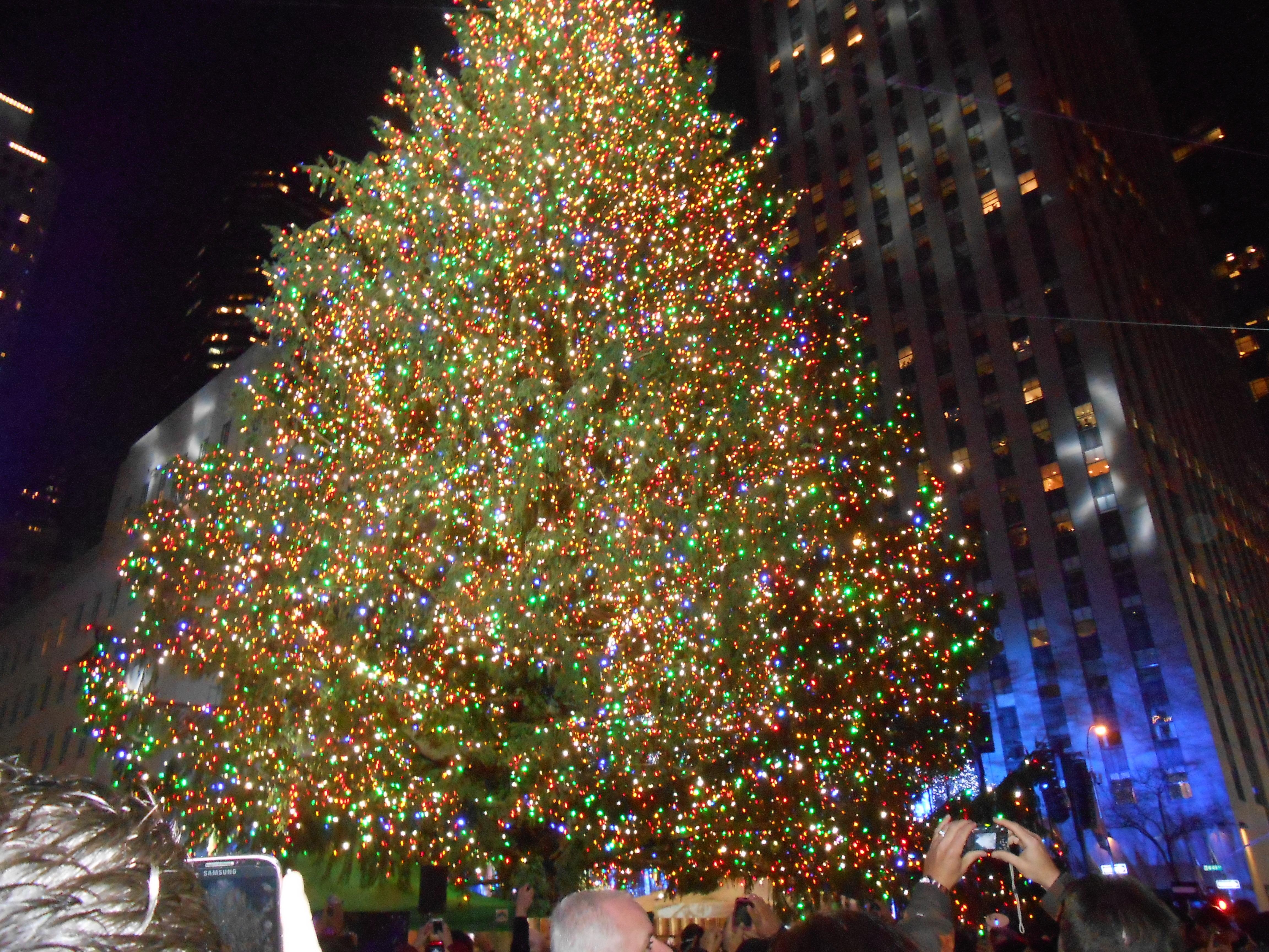 Rockefeller Tree Lighting Ties To Berkeley Heights