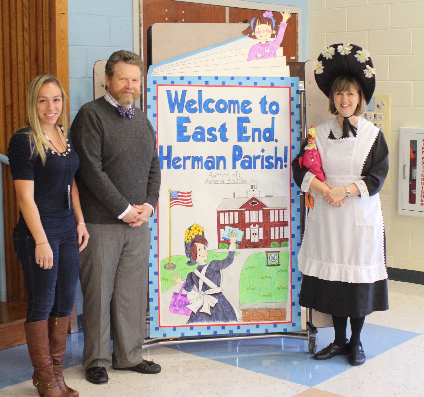 Herman Parish Author Of Amelia Bedelia Visits North