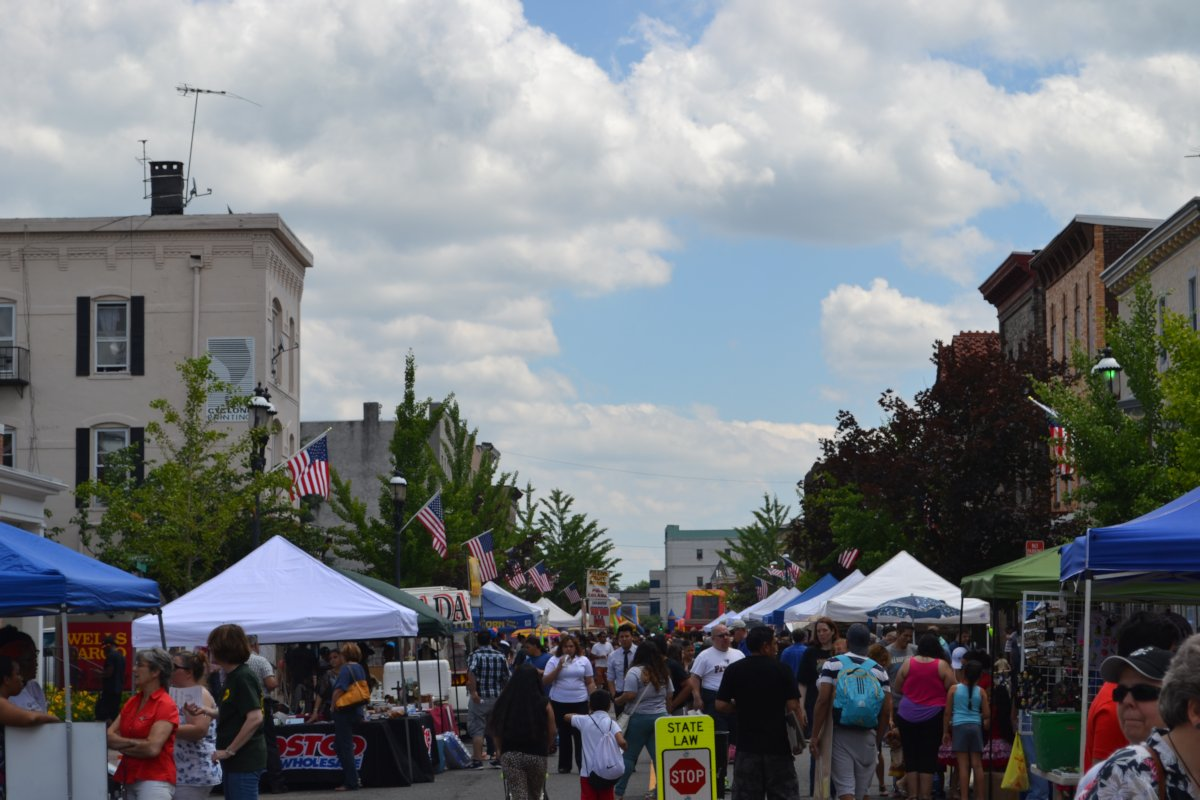Street Fair Brings Thousands To Downtown North Plainfield