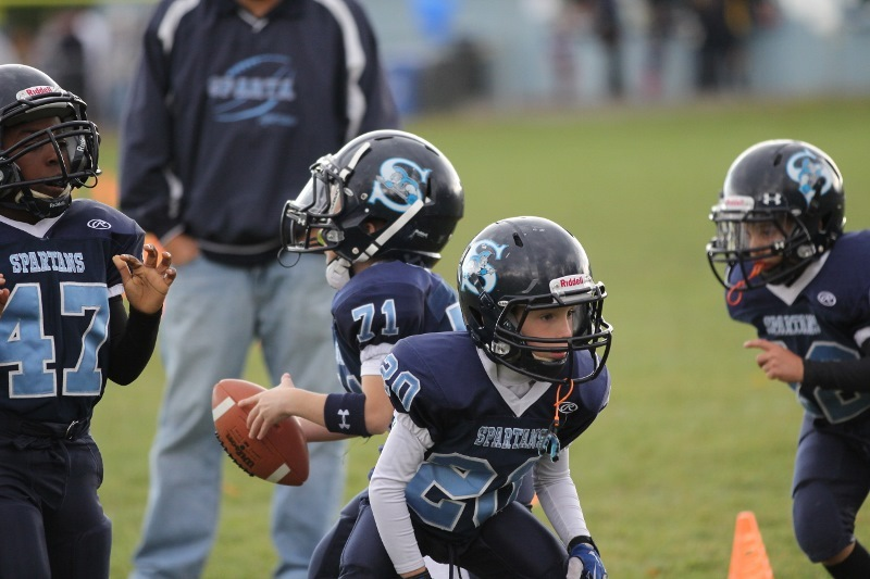 Sparta Spartans Youth Football and Cheerleading Finish