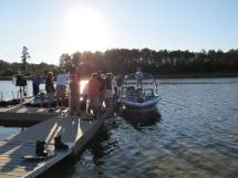 Marshfield Police Recognized Saving Boaters - Year of Clean