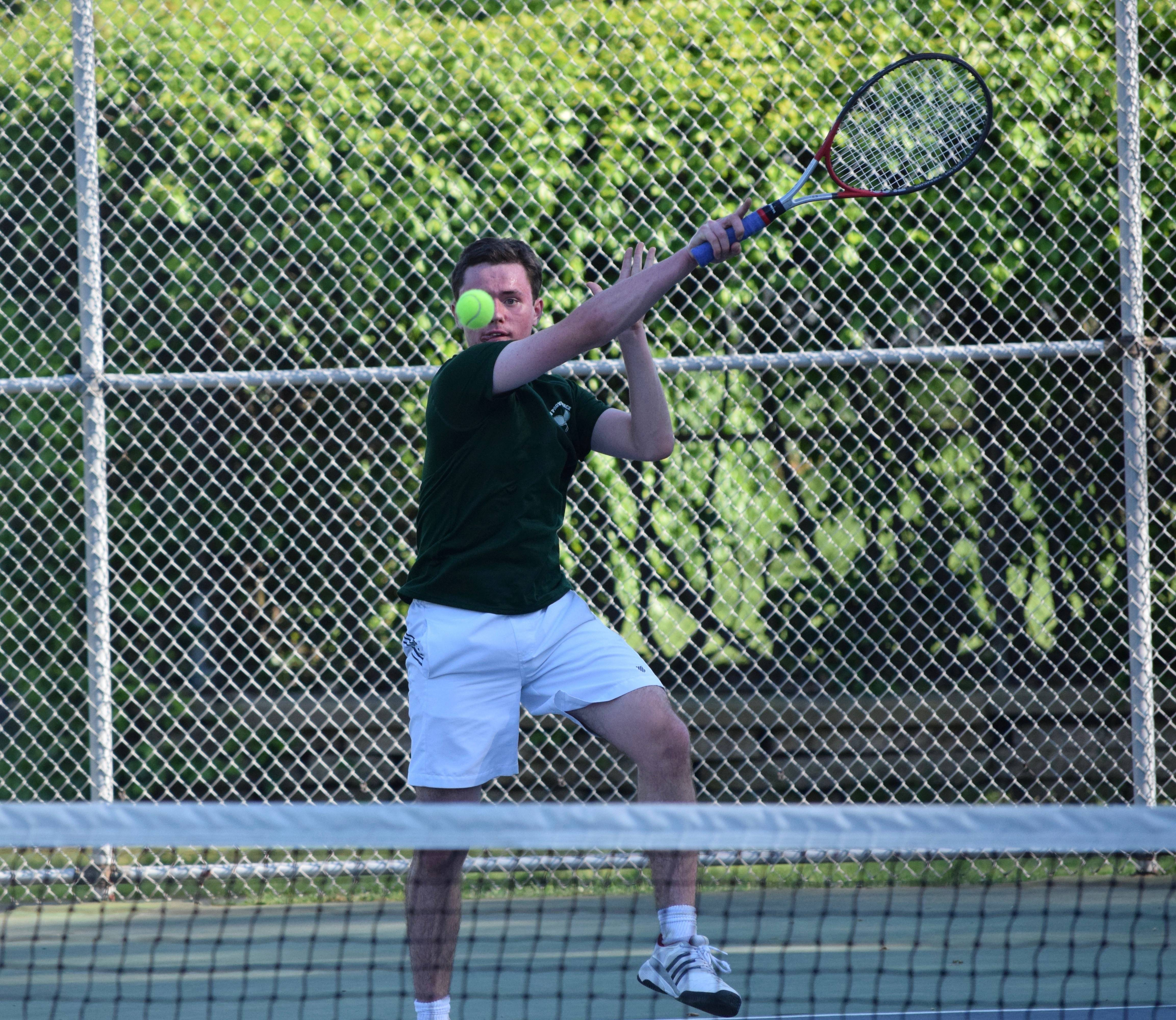sofa sport tennis big lots set boys new providence lands spot in sectional final
