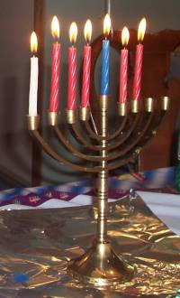 Giant Menorah Lighting | TAPinto
