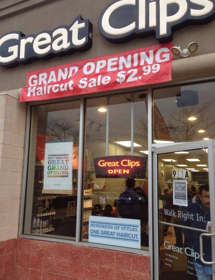Great Clips Opens With Great Prices News TAPinto