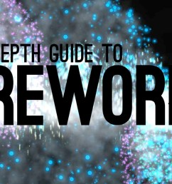 in depth fireworks [ 1280 x 720 Pixel ]
