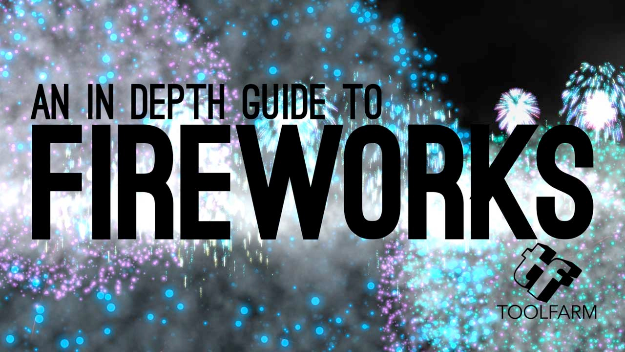 hight resolution of in depth fireworks