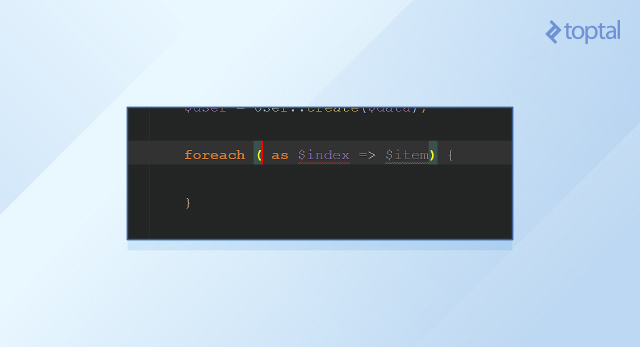 The 'forek' live template.