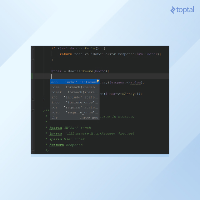 Ctrl+j brings up a list of live templates.