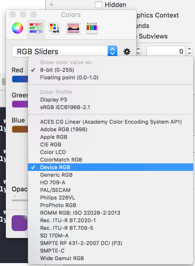 Tutorial de diseño de UI de iOS: elegir la paleta correcta y el perfil de color